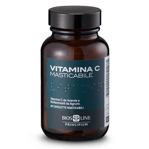 Bios Line Principium Vitamina C 60 Compresse Masticabili prezzi bassi