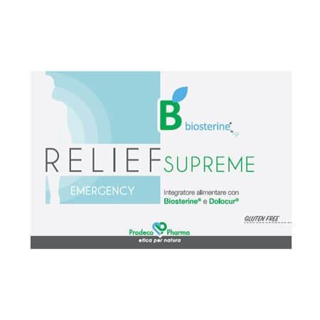 BIOSTERINE RELIEF SUPREME12CPR prezzi bassi