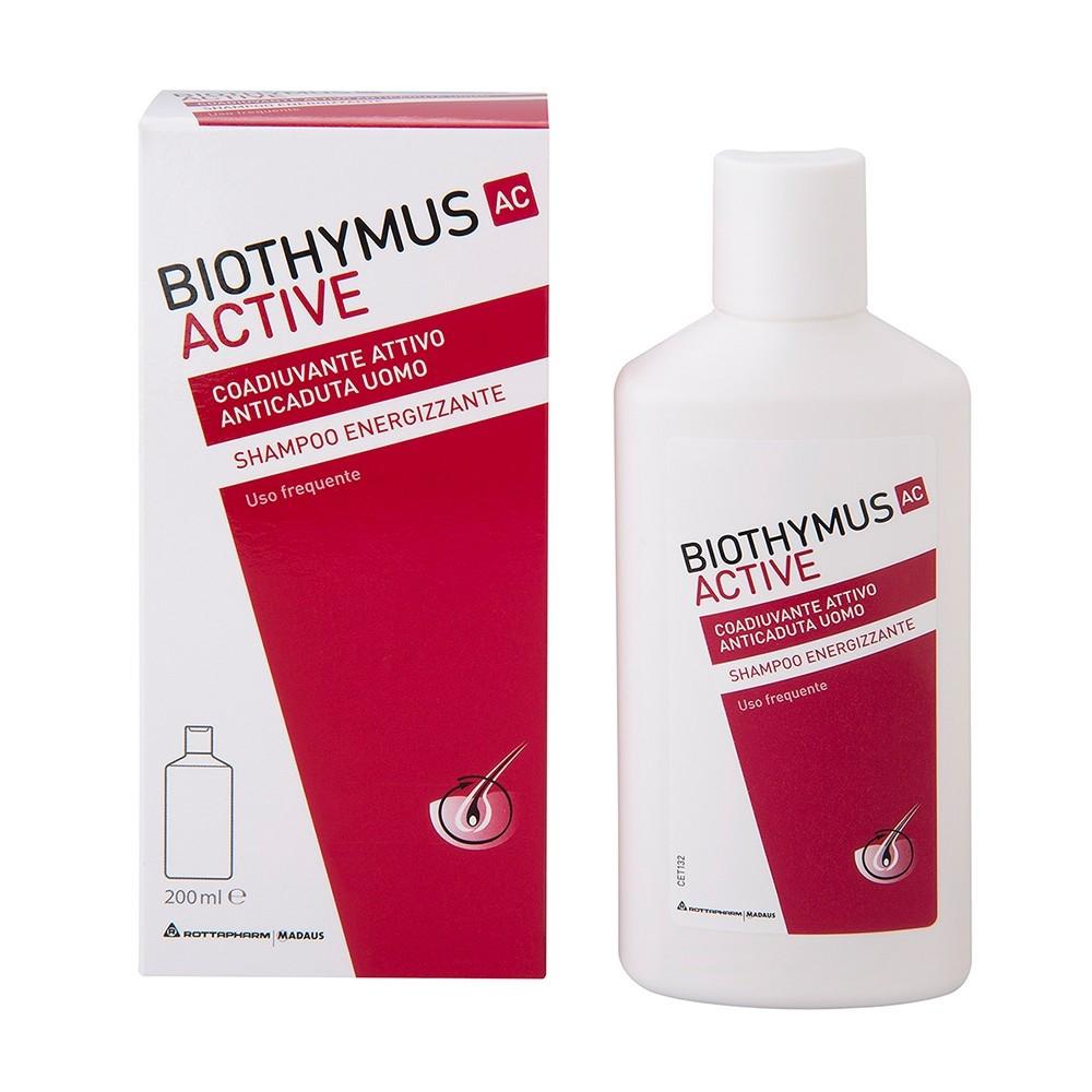 Biothymus AC Active Shampoo Energizzante Uomo 200ml