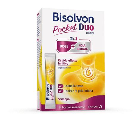 Bisolvon Duo Pocket Lenitivo Tosse + Gola Irritata 14x10ml prezzi bassi