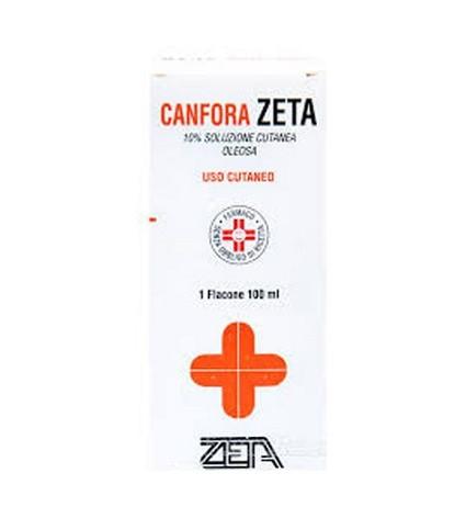 Canfora Zeta 10% Soluzione Cutanea Oleosa 100 ml offerta