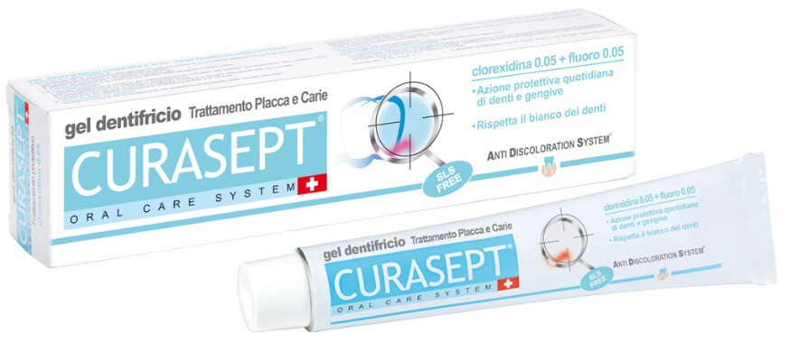 Curasept ADS Dentifricio 0,05 Trattamento Placca e Carie 75ml