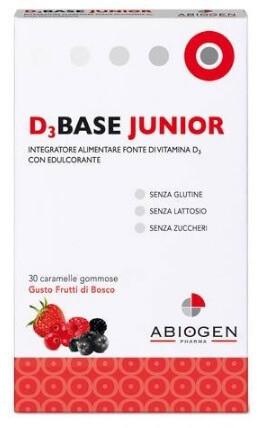 D3BASE JUNIOR 30CARAM FRUT BOS-974889937
