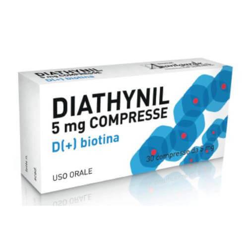 Diathynil D(+) Biotina Dermatite Seborroica 30 Compresse offerta
