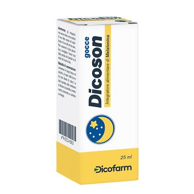 Dicoson Gocce Melatonina 25ml