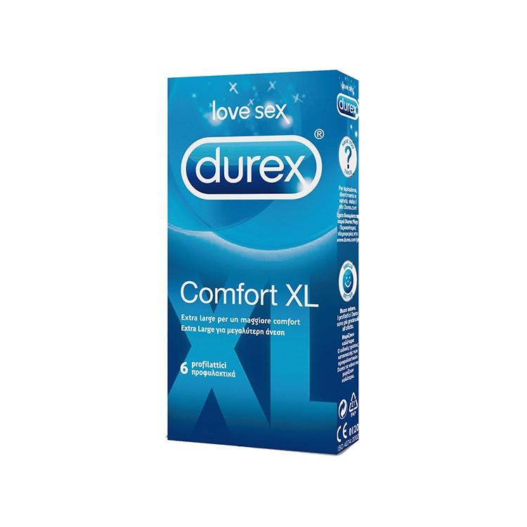 Durex Comfort XL 6 preservativi