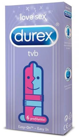 Durex TVB 6 preservativi