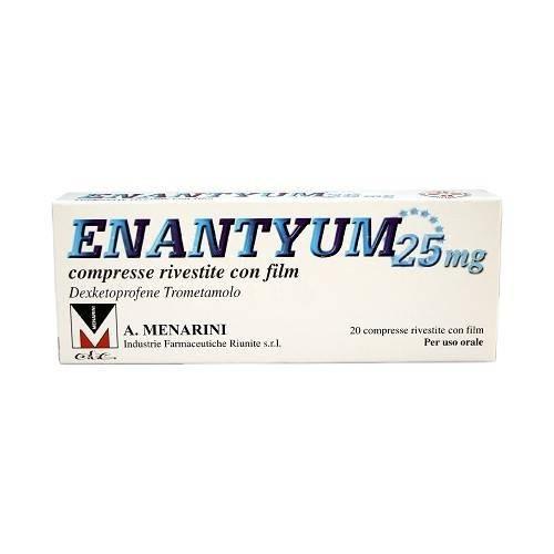Enantyum 20 compresse rivestite 25mg offerta