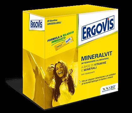 ERGOVIS MINERALVIT 20BUST prezzi bassi