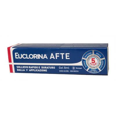 Euclorina Afte Gel 8ml