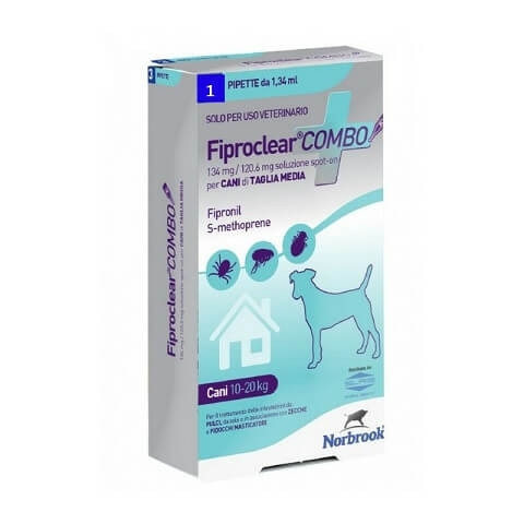 Fiproclear Combo Cani Di Taglia Media 134mg/120,6mg offerta