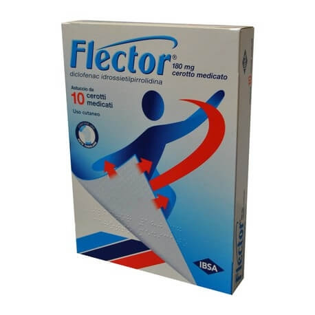 Flector 10 Cerotti Medicati 180 Mg offerta