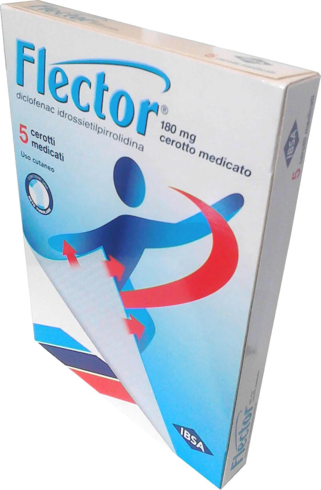 Flector 5 Cerotti Medicati 180 Mg offerta