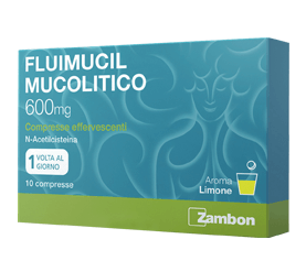Fluimucil Mucolitico 10 Compresse Effervescenti 600mg offerta