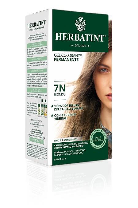 Herbatint 7N Biondo Gel Colorante Permanente 150ml