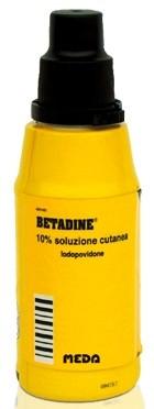 Betadine Soluzione Cutanea 10% 125ml offerta