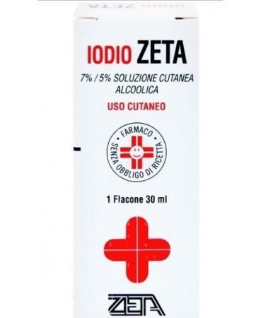 Iodio Soluzione Alcolica I Zeta 50 ml offerta