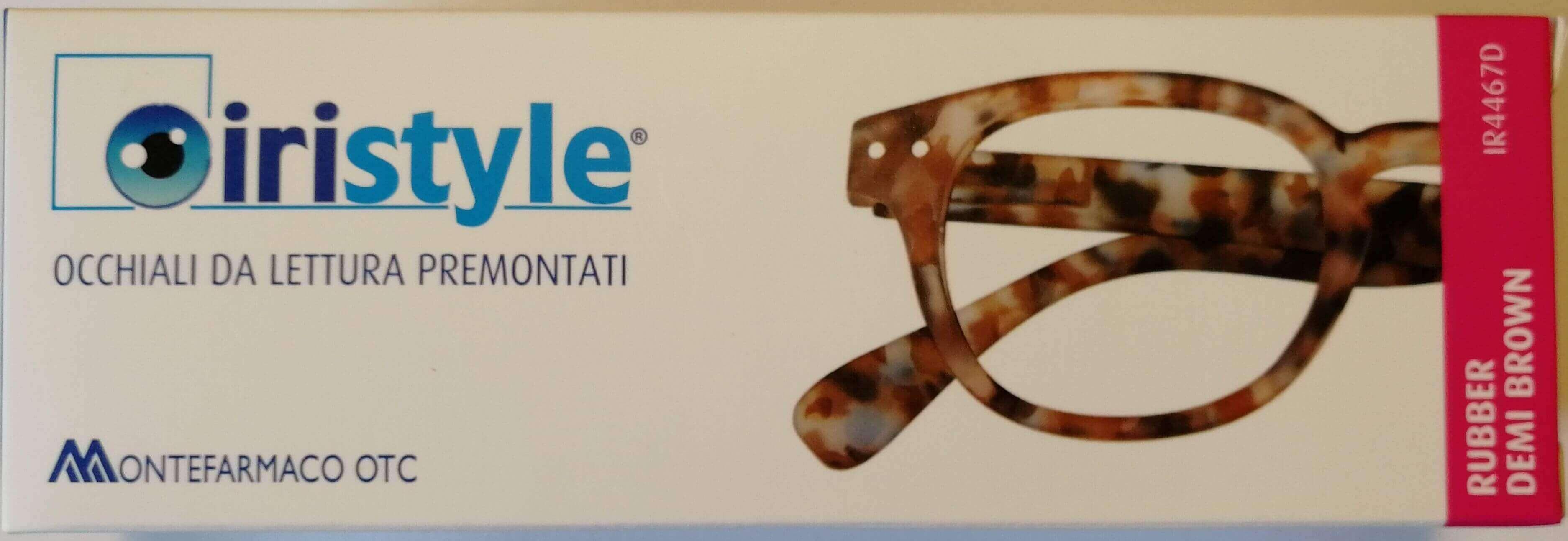 Iristyle Occhiali Da Lettura +1,50 Rubber Demi Brown