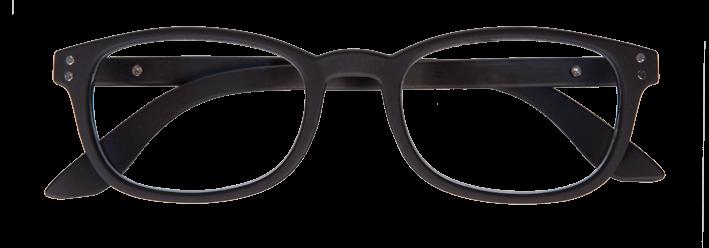 Iristyle Occhiali Da Lettura +1,00 Rubber Black