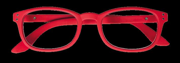 Iristyle Occhiali Da Lettura +2,00 Rubber Red