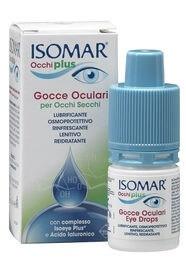 Isomar Occhi Plus Gocce Oculari per Occhi Secchi 10ml