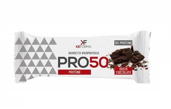 Keforma PRO50 Barretta Iperproteica Cioccolato 50g