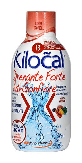 Kilocal Drenante Forte Anti-Gonfiore Tropical 500ml