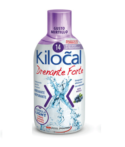 Kilocal Drenante Forte Mirtillo 500ml