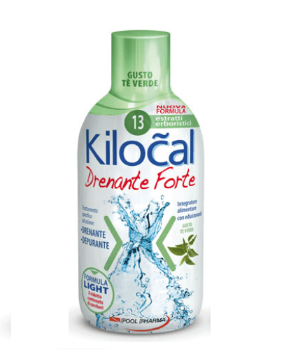 Kilocal Drenante Forte Tè Verde 500ml