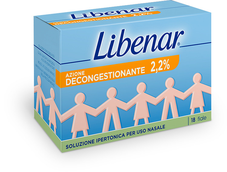 Libenar Soluzione Ipertonica 3% 18 flaconcini