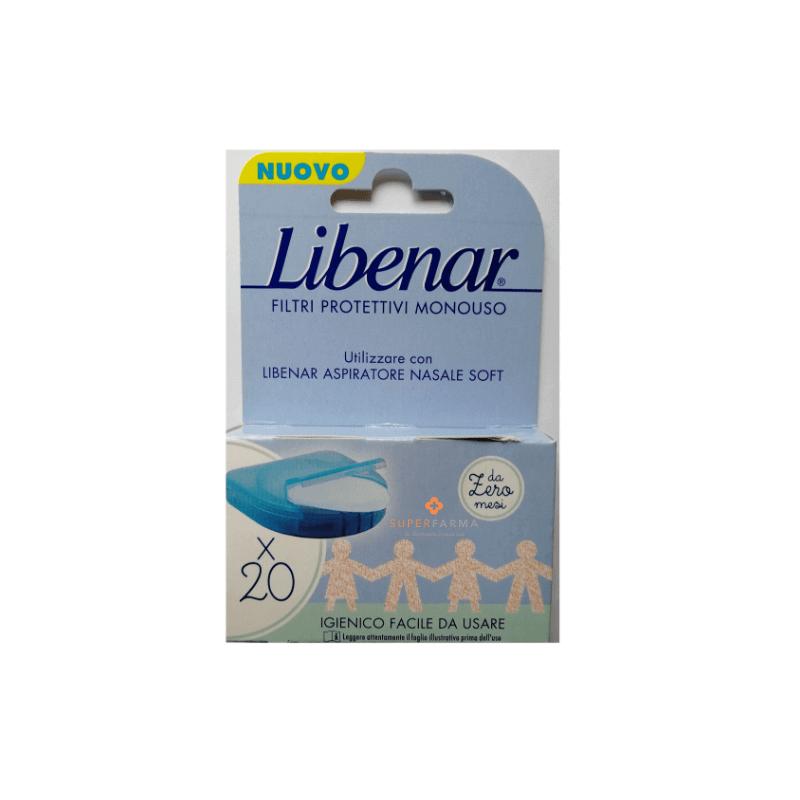 Libenar Filtri Per Aspiratore Nasale 20 pezzi