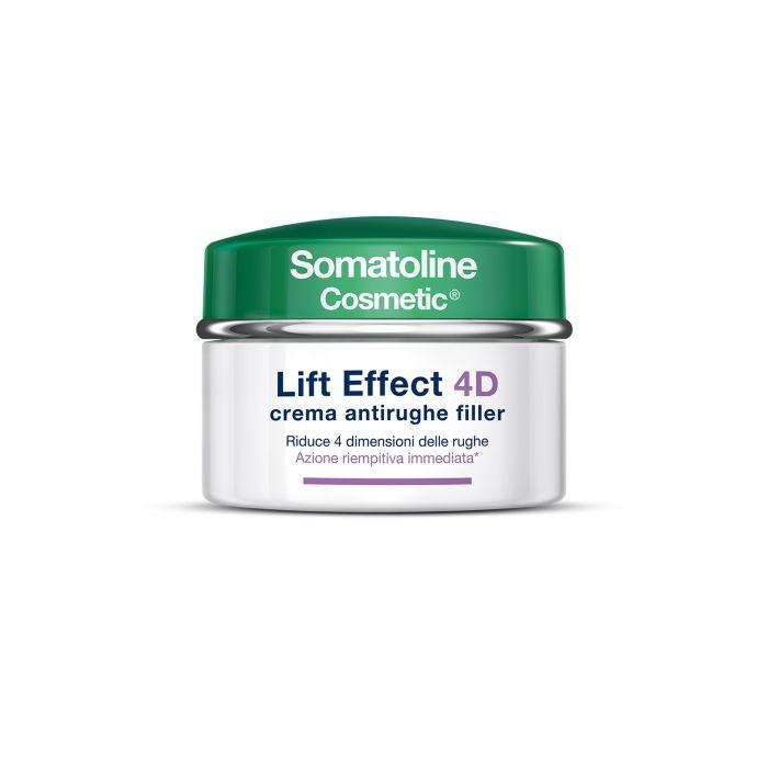 Somatoline Cosmetic Lift Effect 4D Crema Antirughe Filler 50ml
