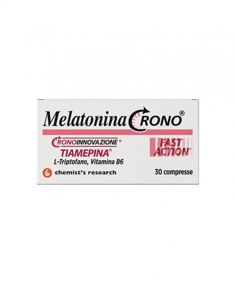 Melatonina Crono Fast Action 1mg 30 compresse