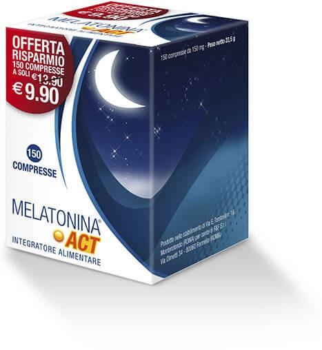 Melatonina Act 150 compresse offerta