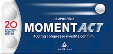Momentact 20 compresse rivestite 400mg offerta
