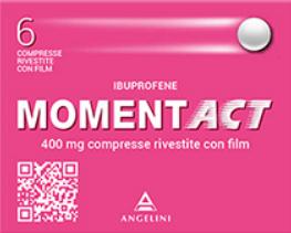 Momentact 6 compresse rivestite 400 Mg offerta