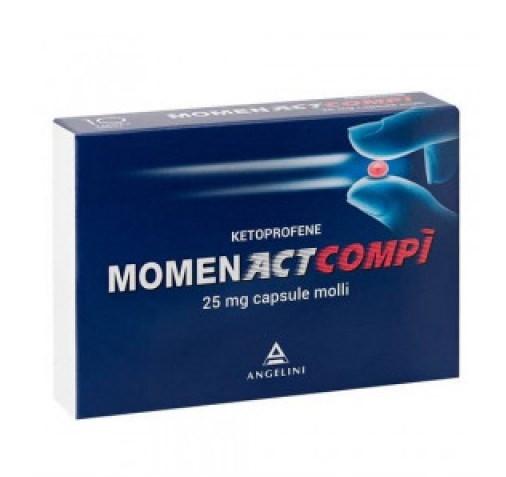 MomentAct Compì 10 capsule 25mg offerta