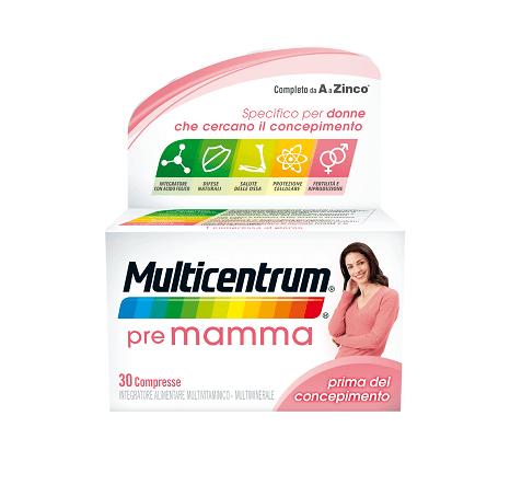 MULTICENTRUM PRE MAMMA 30CPR prezzi bassi