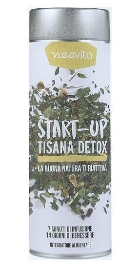 Neavita Silver Tin Start-Up Tisana Detox 70g