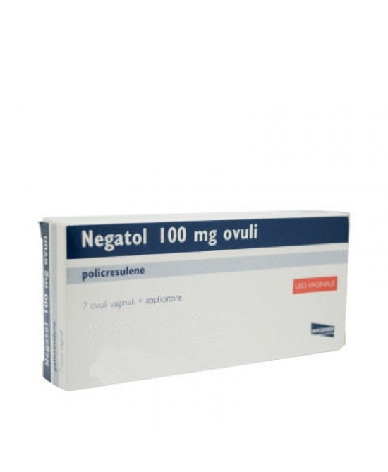 Negatol 7 Ovuli Vaginali 0,1 G con applicatore offerta