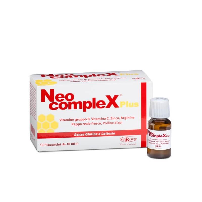 Neo Complex Plus 10 flaconi monodose 10ml