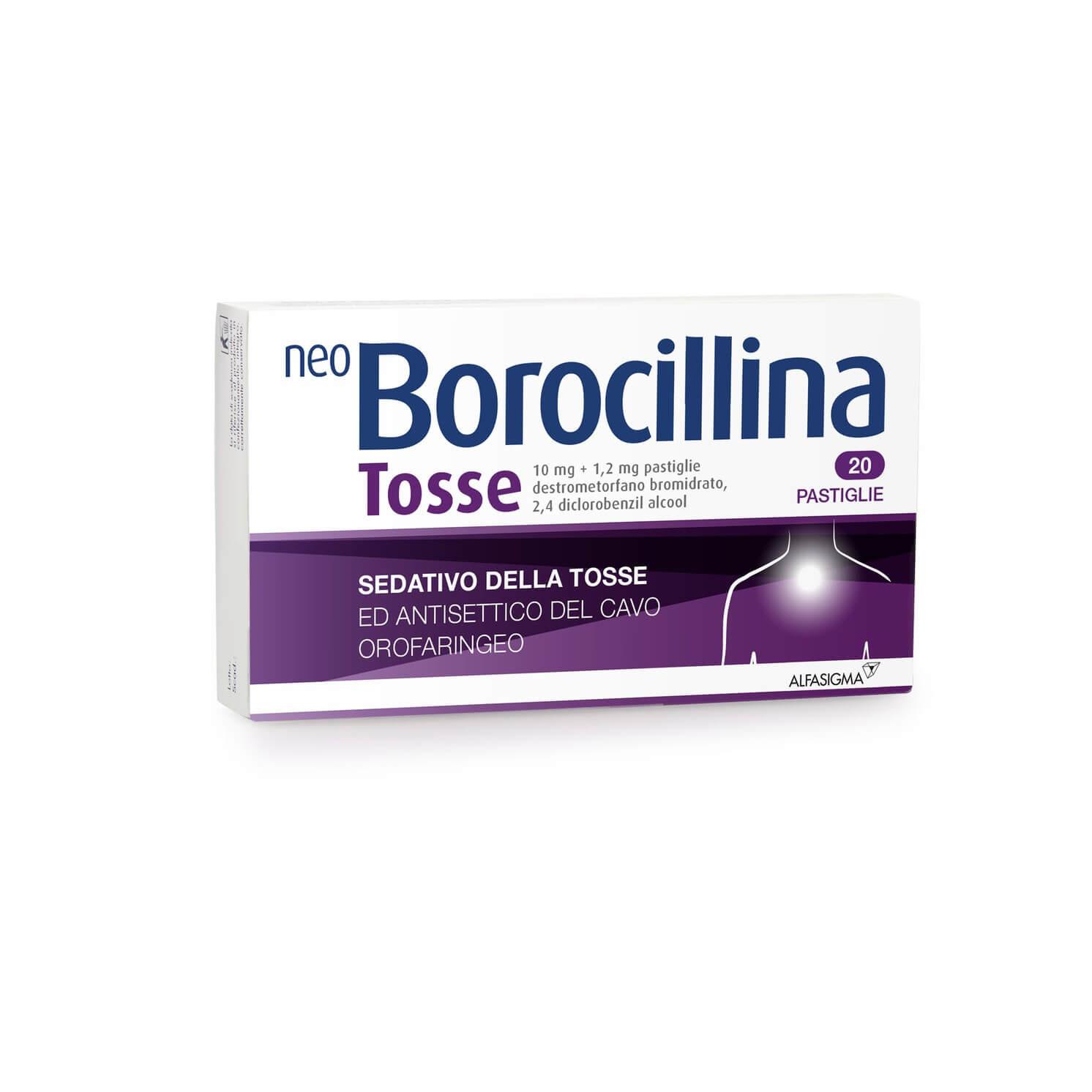 Neoborocillina Tosse 20 Pastiglie offerta