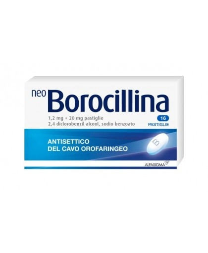 NeoBorocillina 16 pastiglie offerta