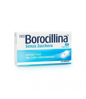 NeoBorocillina Senza Zucchero 16 pastiglie offerta