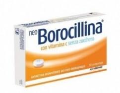 NeoBorocillina Vitamina C Senza Zucchero 16 pastiglie offerta