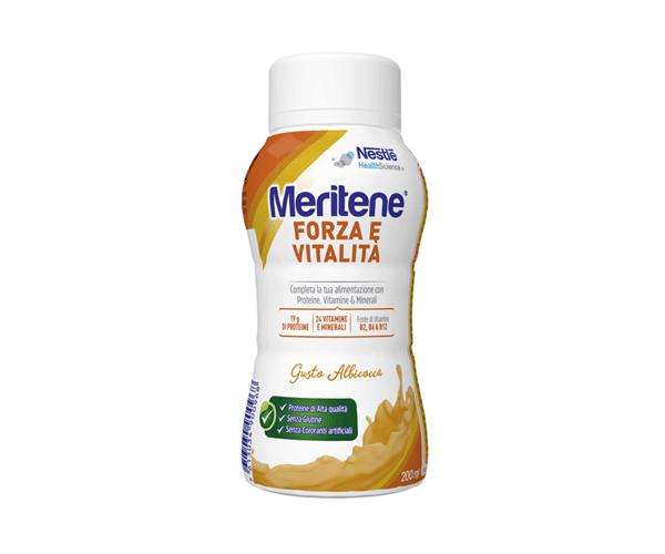 Nestlé Meritene Drink Albicocca Forza e Vitalità 200ml