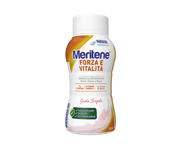 Nestlé Meritene Drink Fragola Forza e Vitalità 200ml
