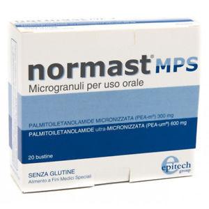 Normast MPS Microgranuli per uso orale via Sublinguale 20 bustine