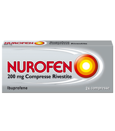 Nurofen 24 Compresse Rivestite 200 Mg offerta