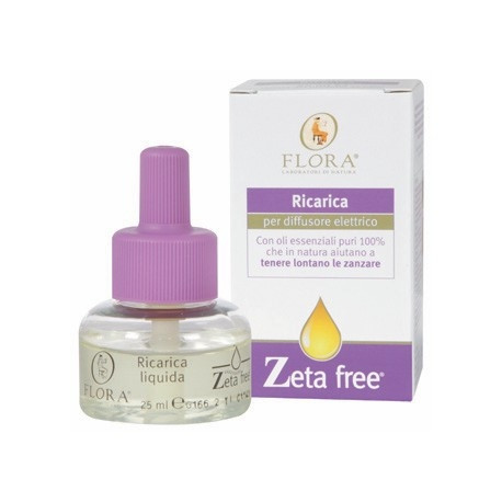 Flora Zeta Free Ricarica Diffusore Elettrico 25ml